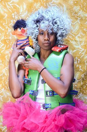 Ayo Janeen Jackson - COURTESY OF ELSEWHERE MUSEUM