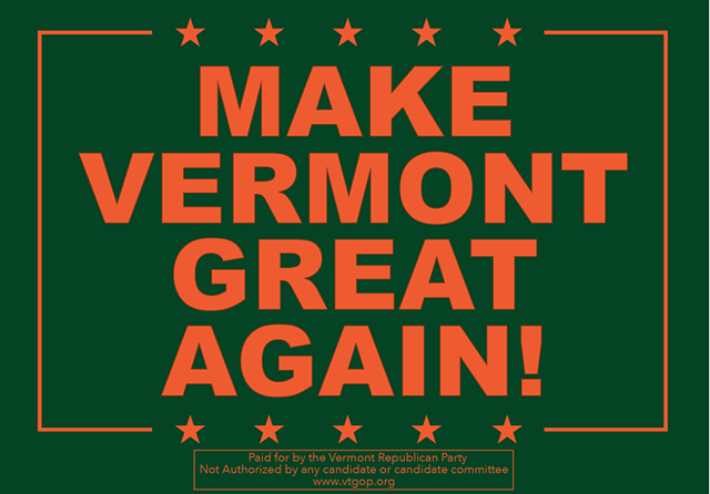 SCREENSHOT FROM VERMONT GOP EMAIL