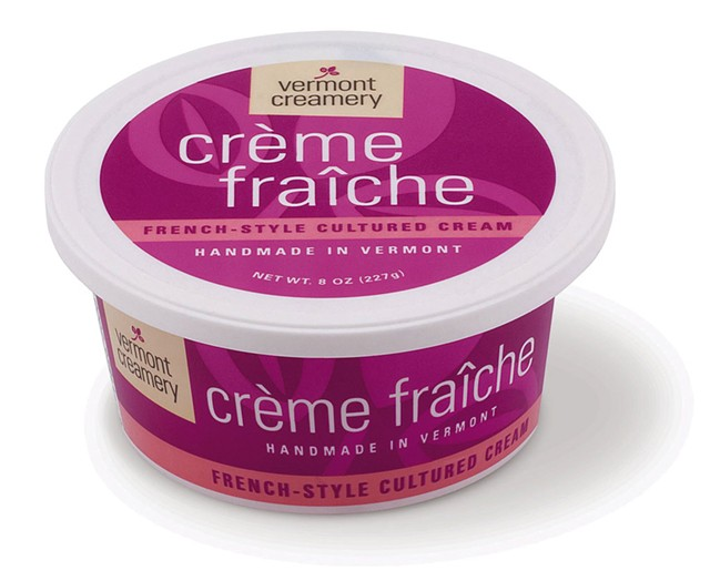 Vermont Creamery's créme fraÎche - COURTESY OF  VERMONT CREAMERY