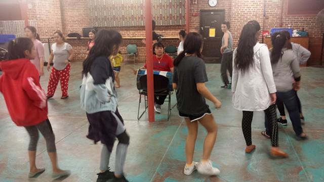 Sakela dance rehearsal at the Old North End Community Center - KYMELYA SARI