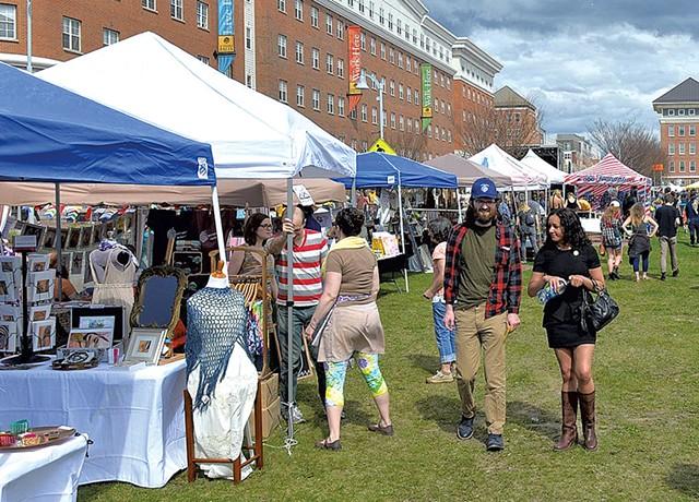 Downtown Artists Market - COURTESY OF BRITT SHORTER