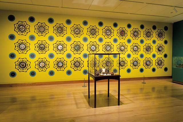 """Memento Vitae"" by Jennifer Angus - COURTESY OF SHELBURNE MUSEUM"