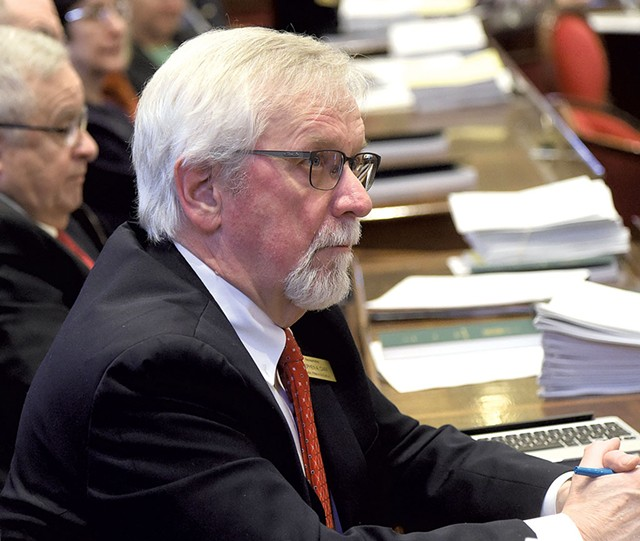 Rep. Stephen Carr - D-Brandon - House Energy and Technology Committee - Legislator since 2013; chair since 2017 - JEB WALLACE-BRODEUR