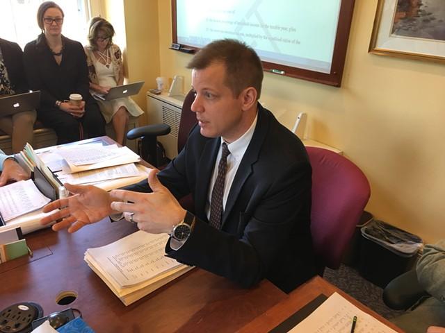 Tax Commissioner Kaj Samsom - JOHN WALTERS