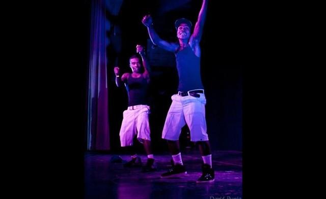 Rodrick (left) and Beny Kiesse - COURTESY OF BENY KIESSE