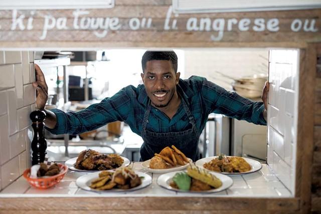 Chef Paul Toussaint - COURTESY OF AGRIKOL/MELIKA DEZ