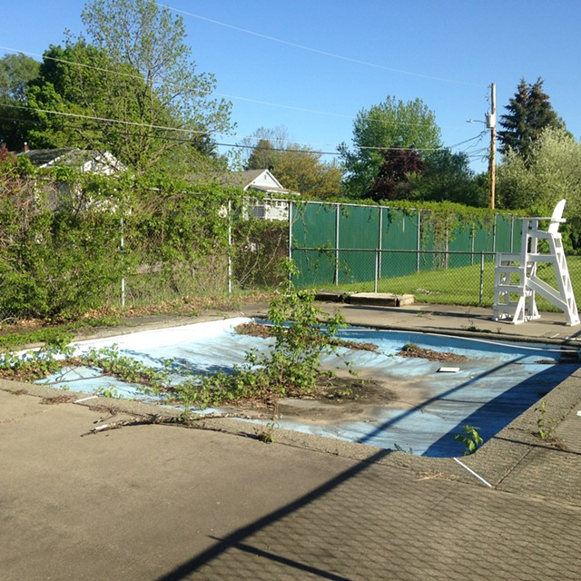 The kiddie pool - MOLLY WALSH