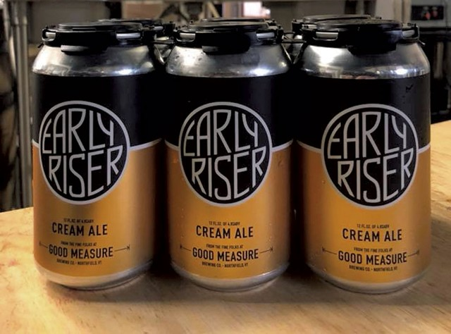 Good Measure Brewing's Early Riser cans - COURTESY OF GOOD MEASURE BREWING