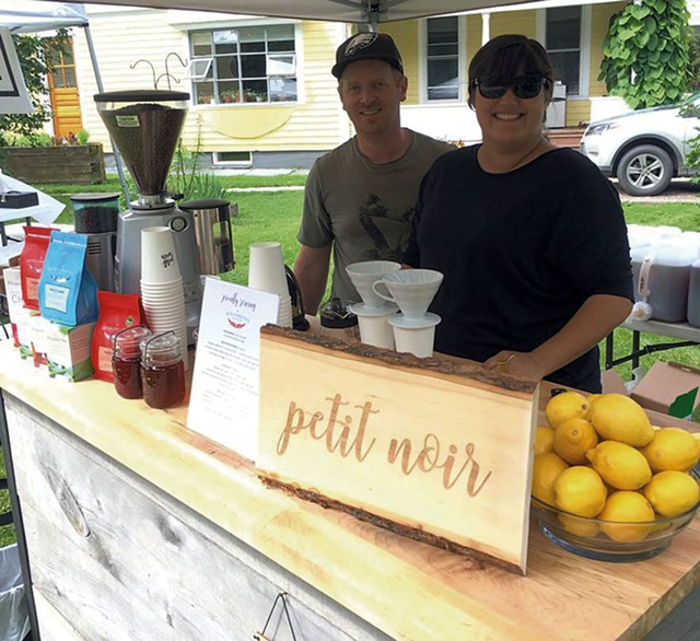Ben and Becky Colley of Petit Noir and Waterbury Breakfast Club - COURTESY OF PETIT NOIR