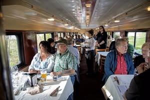 Champlain Valley Dinner Train - EVA SOLLBERGER