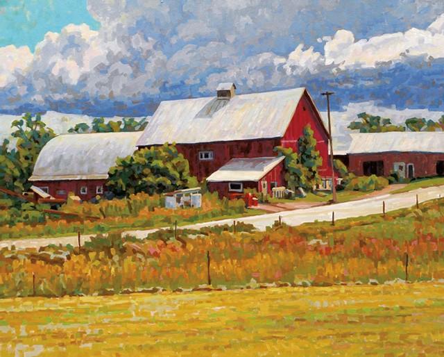 "Phil Laughlin, ""Franklin County Barn"""