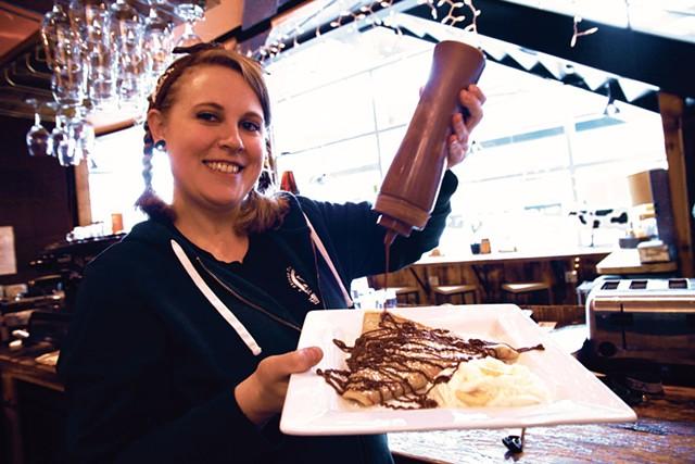Anna Walsh, Skinny Pancake general manager - MATTHEW THORSEN