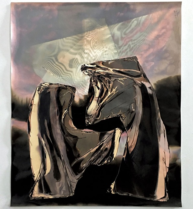 """Chaotic Pressure"" by Thomas J. Condon - COURTESY OF VERMONT STUDIO CENTER"