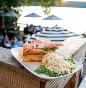 Lobster roll - CALEB KENNA