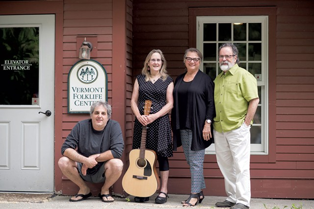 From left: Andy Kolovos, Kim Chase, Carmen Beaudoin Bombardier and Mark Sustic - CALEB KENNA