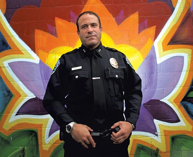 Burlington Police Chief Brandon del Pozo - FILE: MATTHEW THORSEN