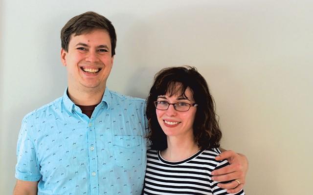 Nick Crawford and Christine Mancuso - SARA TABIN