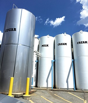 Tanks outside the Ben & Jerry's Factory - DAN BOLLES