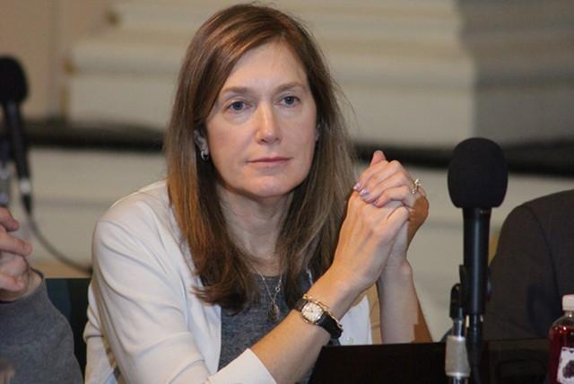 Burlington City Councilor Karen Paul - MATT THORSEN
