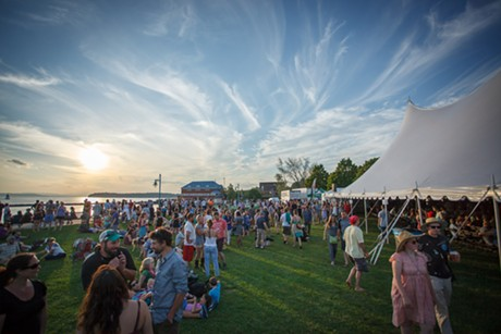 Waterfront Park during Burlington Discover Jazz Festival - COURTESY OF BRIAN MACDONALD