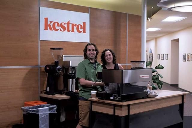 Johnny and Charlotte Steverson - COURTESY OF KESTREL