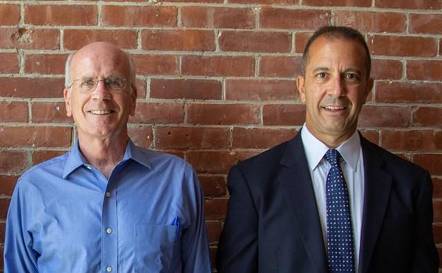 U.S. Rep. Peter Welch and Dan Freilich - ANNA STE. MARIE/VPR