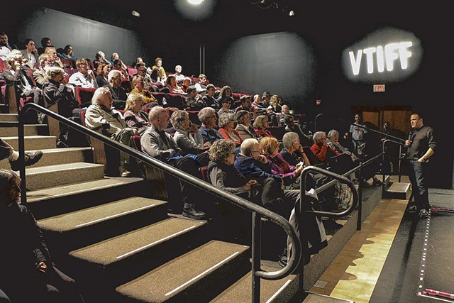 Vermont International Film Festival at the Black Box Theatre before its redesign - COURTESY OF MARIAH RIGGS