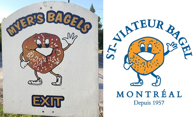Who wore it better? - SASHA GOLDSTEIN; ST-VIATEUR BAGEL