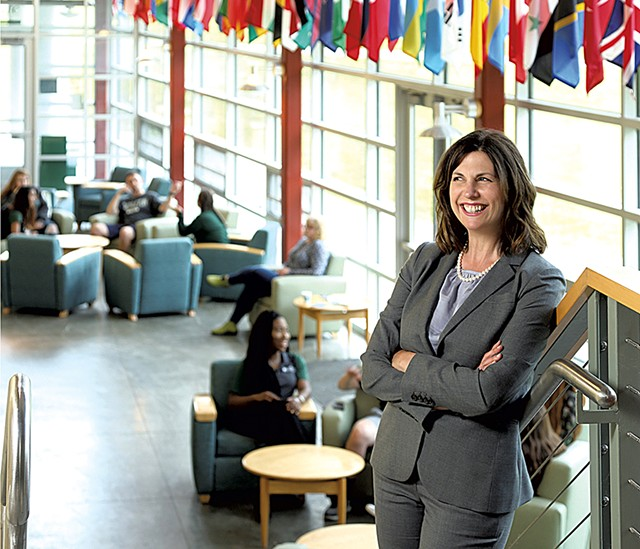 Karen Scolforo, president of Castleton University - COURTESY OF CASTLETON UNIVERSITY