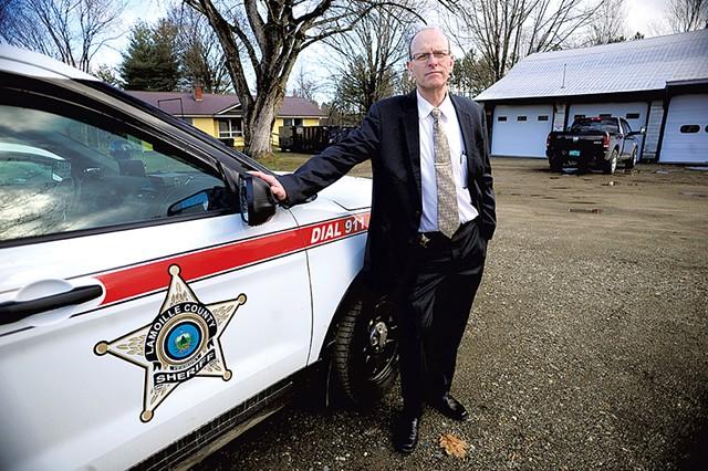 Sheriff Roger Marcoux - FILE: STEFAN HARD