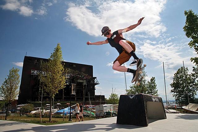 Andy A_Dog Williams Skatepark - MATTHEW THORSEN