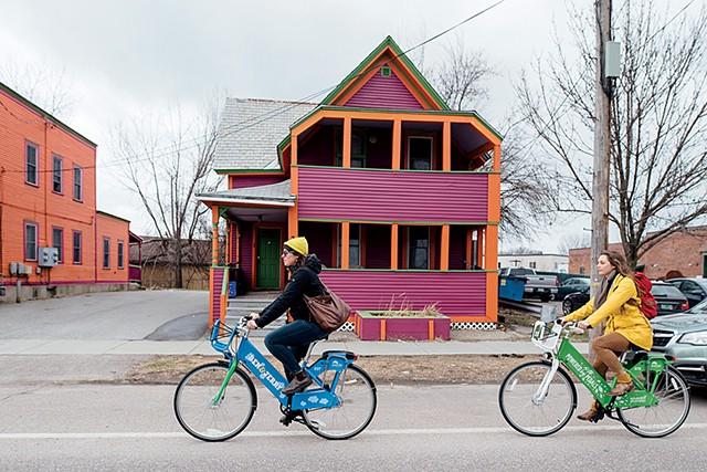Greenride Bikeshare - COURTESY OF CATMA/ARIELLE THOMAS