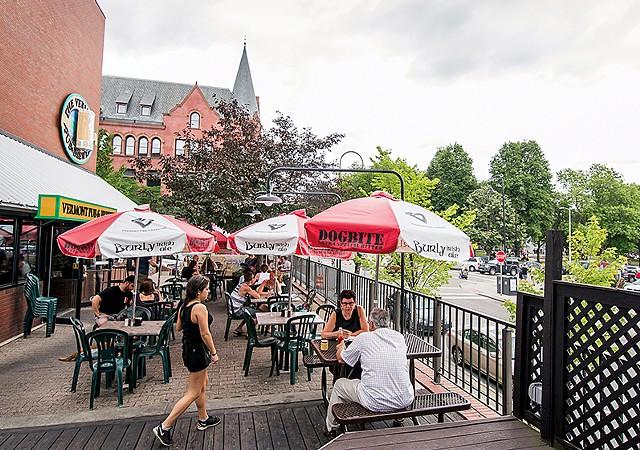 Vermont Pub & Brewery - LUKE AWTRY