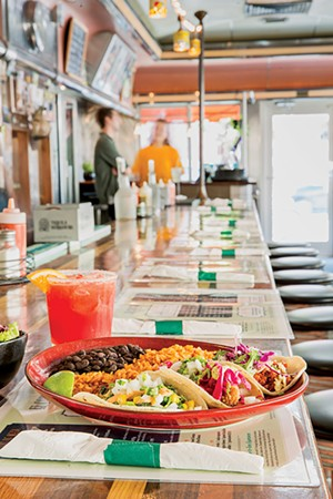 Tacos at El Cortijo - OLIVER PARINI