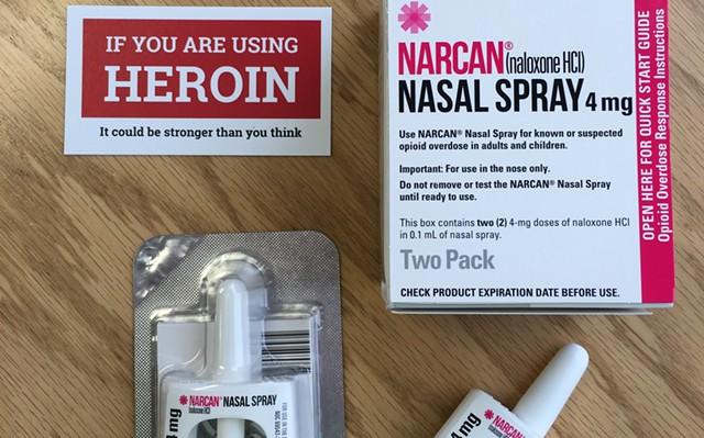 A kit with the overdose-reversing drug Narcan - COURTESY DEPARTMENT OF HEALTH