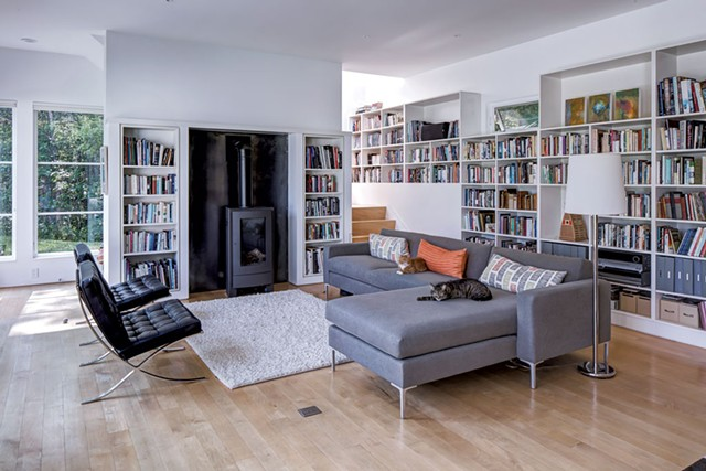 The living room - LINDSAY SELIN