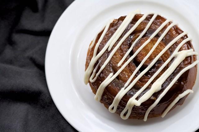 The OG bun from Haymaker Bun - COURTESY OF HAYMAKER BUN