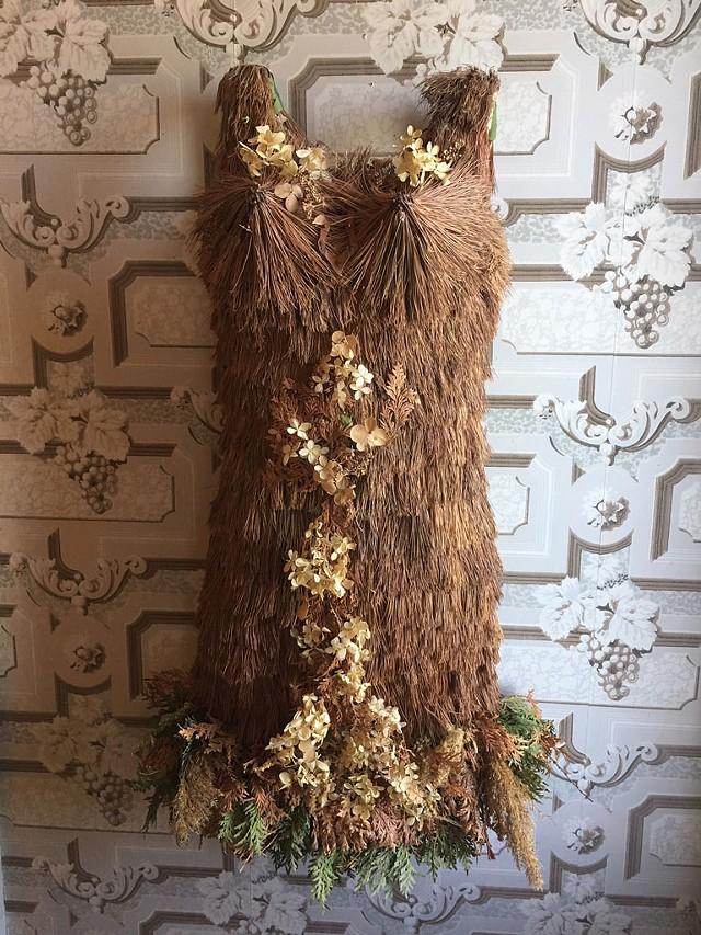 A dress by Wendy Copp - PAMELA POLSTON