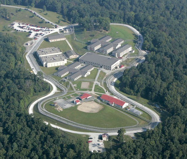 Lee Adjustment Center in Kentucky, where CoreCivic (then called Corrections Corporation of America) housed Vermont inmates until 2015. - FILE PHOTO