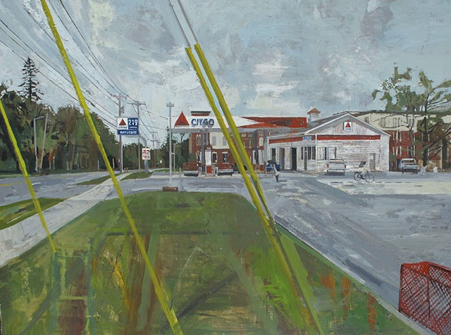 """""""CITGO Rt. 7"""" by Peter Fried"""
