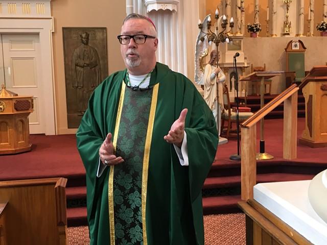Bishop Christopher Coyne - FILE: MATTHEW ROY