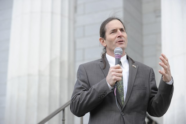 Lt. Gov. David Zuckerman - FILE: JEB WALLACE-BRODEUR