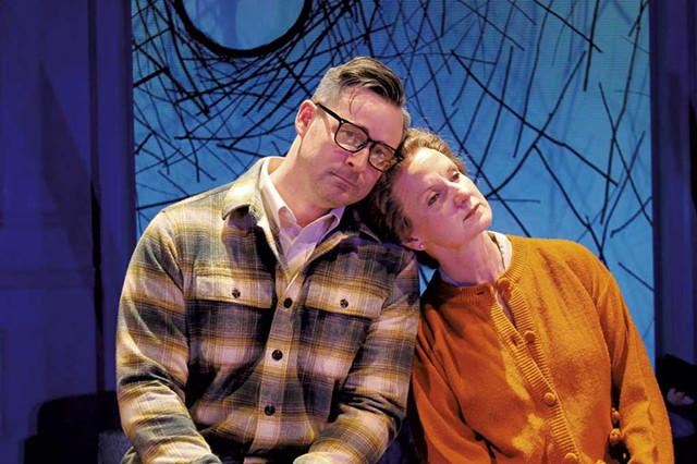 Thom Miller (left) and Carol Dunne - COURTESY OF NORTHERN STAGE