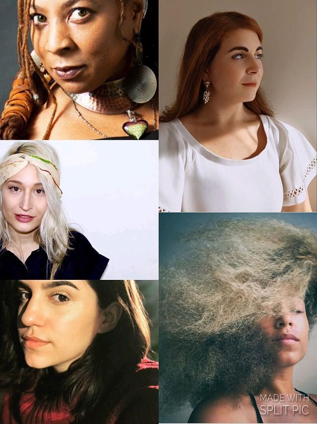 Clockwise from top left: DonnCherie McKenzie, Lucia Stavros, Myra Flynn, Sabrina Comellas and Maria Neckam - COURTESY OF MYRA FLYNN