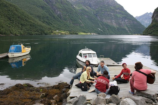 The Smittens in Norway - COURTESY OF TOM WADE