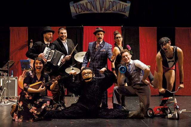 The cast of Vermont Vaudeville: Ten Years Later - JESSICA OJALA