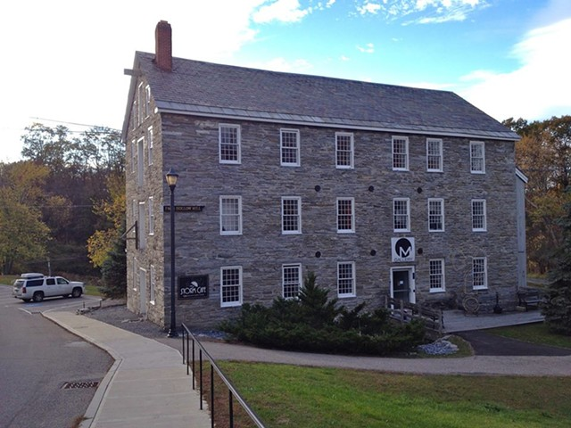 Old Stone Mill building in Middlebury - COURTESY OF STORM CAFÉ