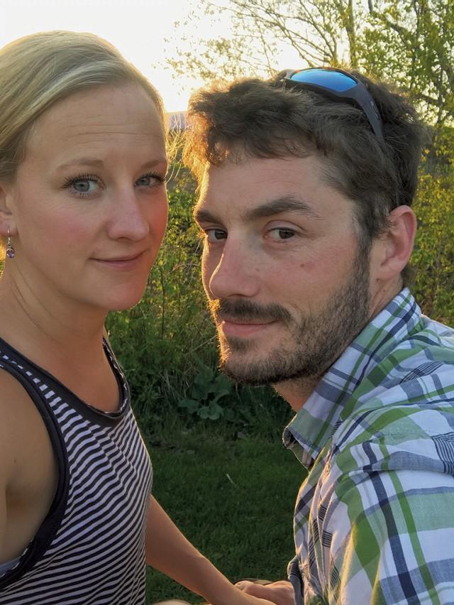 Jennifer and Aaron Martin - COURTESY OF AARON MARTIN
