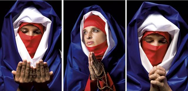 """Untitled"" by Boushra Almutawakel - COURTESY OF CATHEDRAL CHURCH OF ST. PAUL"
