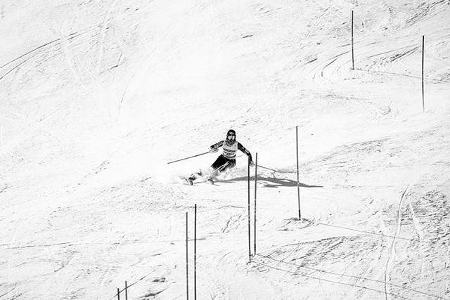 Resi Stiegler training in Colorado - COURTESY OF U.S. SKI & SNOWBOARD